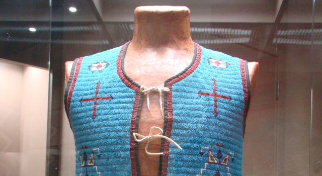 Plains Indian Beaded Vest